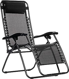 Amazon Basic 椅子 折疊 Zero Gravity 椅子 Infinity椅 黑色