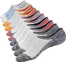 M&Z Low Cut No Show Socks Mens Casual Invisible Cotton Non-Slip Durable Socks S/M/L