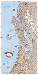 Sobay Map P003 - Pacific Northwest Coast: Southern Part - 30x59 Wall Map - Paper or Laminated (Paper)
