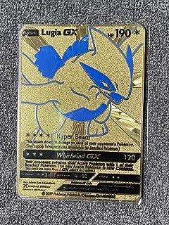 Lugia Gx Customized Metal Card