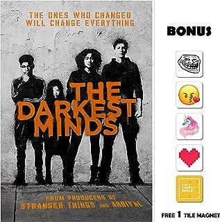 The Darkest Mind Movie Poster 13 in x 19 in Poster Flyer Borderless + Bonus 1 Free Tile Magnet