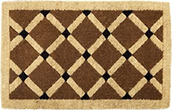 Natural 100% Coir Doormat Thick Welcome Entry Mat Mahi Small and Large Sizes (69x90cm)