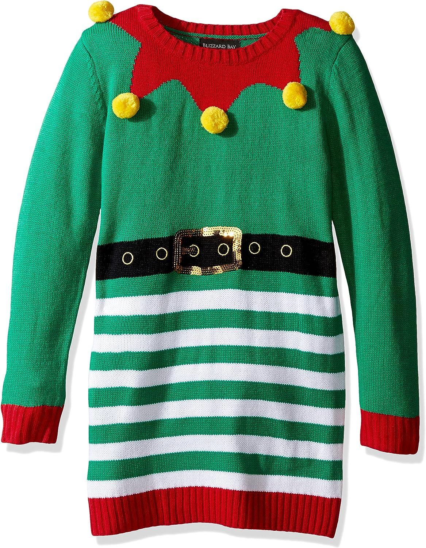 Blizzard Bay Bizzard Bay 3D Pom Tunic Little Girl Xmas Sweater