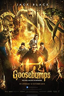 Goosebumps - Movie Poster 2015 (12 x 18) Glossy Photo Paper; R.L. Stine, Jack Black by WMG
