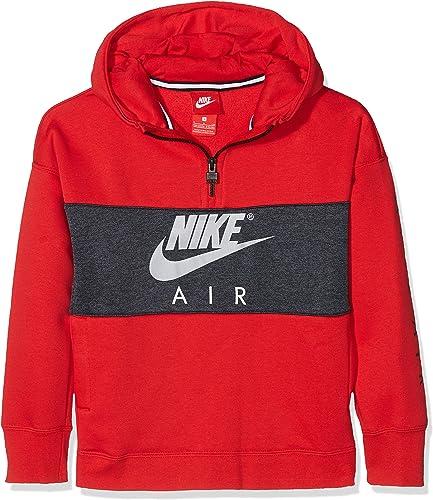 Nike - B Nk Air sweat à capuche Hz Po - Sweat à capuche - Mixte Enfant