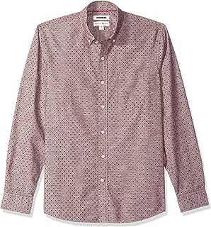 Amazon Brand - Goodthreads Men's Standard-Fit Long-Sleeve Polka Dot Chambray Shirt
