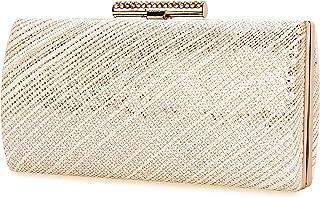 0c18f50a Selighting Bolsa de Noche Mujer Bolso de Mano Bolso Clutch de Embrague  Monedero para Mujeres y