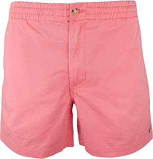 Polo Ralph Lauren Red Mens US Size XL Button-Front Chino Shorts