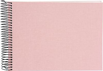 Spiralalbum Bella Vista pink 35x30
