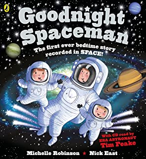 Goodnight Spaceman: Book and CD