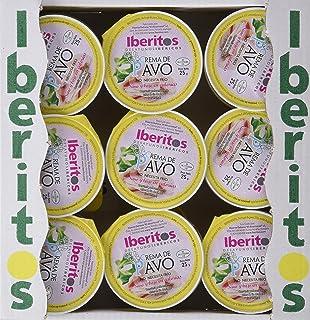 Iberitos Conserva para untar - 18 Monodosis de 23 gr de Crema de Pavo