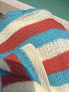 Handmade Knit Baby Afghan