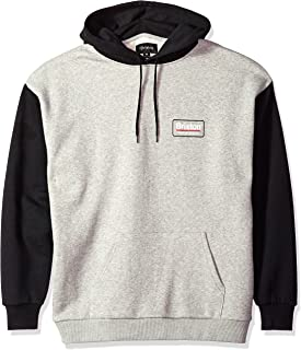 Brixton Men's Palmer Relaxed Standard Fit Hood Fleece Sweatshirt