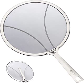 ICOSA Living 4335513266 Premium Splatter Screen for Frying Pan Large-13 inch, Stainless Steel