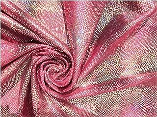Best glitter lycra stretch fabric Reviews