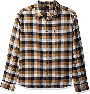 Men's Long Sleeve Regular Fit Flannel Shirt