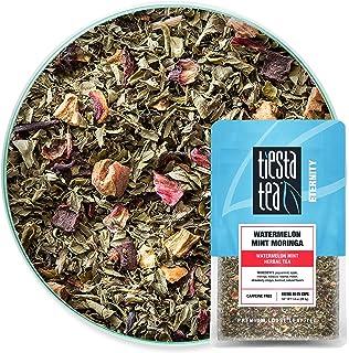 Tiesta Tea - Watermelon Mint Moringa, Loose Leaf Watermelon Mint Herbal Tea, Non-Caffeinated, Hot & Iced Tea, 1 oz Pouch -...