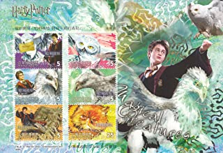 Harry Potter Prisoner of Azkaban Collectible Postage Stamps Taiwan 3554