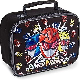 Power Rangers Bolsa Termica Porta Alimentos, Nevera Portatil Pequeña para Colegio Guarderia Excursion, Bolsa Isotermica para Almuerzo Merienda, Regalos Originales para Niños Niñas