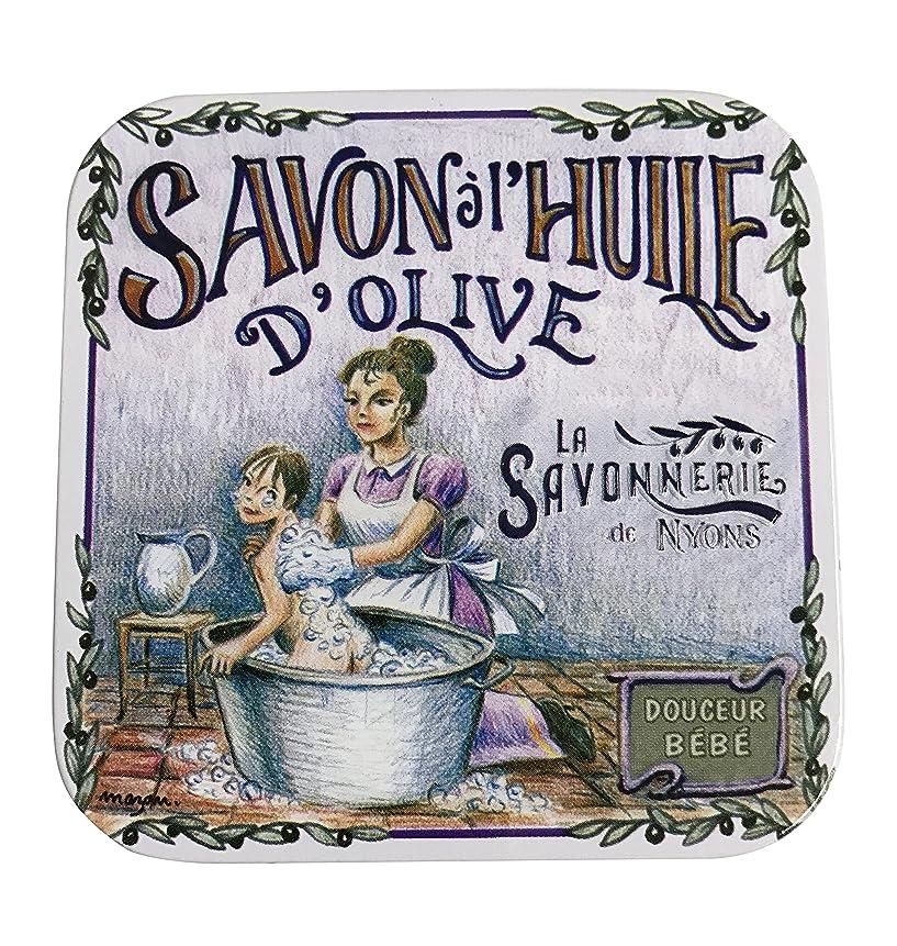 立場フラグラントフォーラムラ?サボネリー アンティーク缶入り石鹸 タイプ100 ハウスワイフ(ローズ)