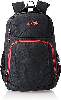 Flying Machine 25 Ltrs Black Messenger Bag (FMLO8054)