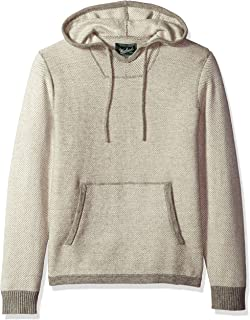 Men's Twill Baja Hooded Merino Sweater