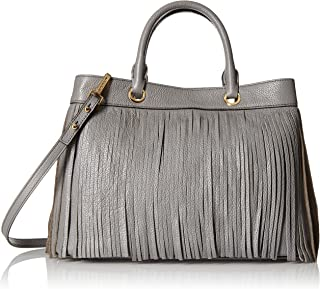 MILLY Essex Fringe Tote Convertible Top-Handle Bag