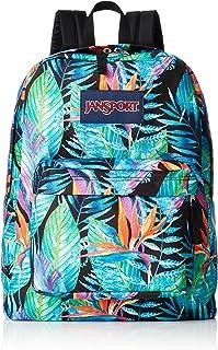 Exotic Tropical Grass Cute School Backpack for Women Men Fashion Hiking Travel Bag