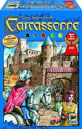 descuento de bajo precio Schmidt Spiele Carcassonne - Juego de Tablero Tablero Tablero (Multi)  entrega de rayos