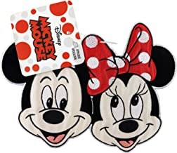 """Iron on patches MINNIE MOUSE XL /""""MINNIE STANDING/"""" pink Applicati 20x14cm"""