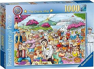 Ravensburger Best of British No.20 - The Cruise Ship, 1000pc Jigsaw Puzzle