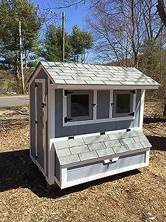 Clark Wooden Originals Salt Box Chicken Coop