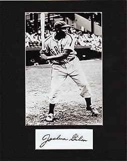 JOSH GIBSON, 8 X 10 PHOTO AUTOGRAPH ON GLOSSY PHOTO PAPER