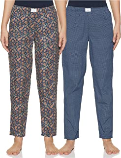 Diverse Women's Pyjama Bottom (Pack of 2) (DCWLPCMSC19L34-8_Multicolor_Small)