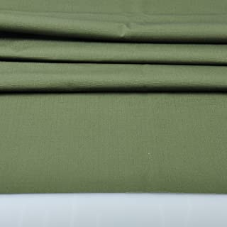 olive drab canvas fabric