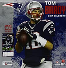 New England Patriots Tom Brady 2017 Calendar