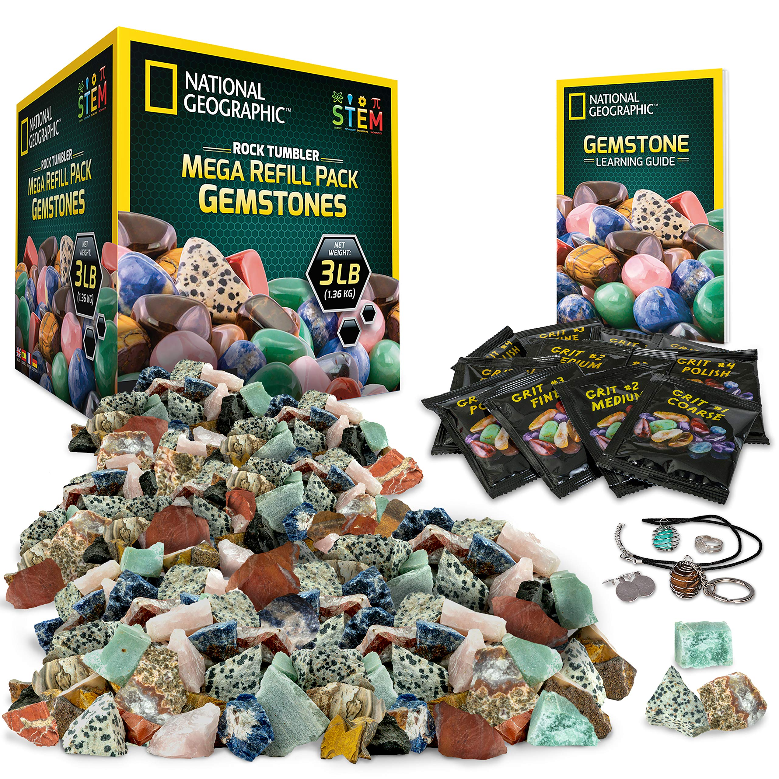 National Geographic Rock Tumbler Refill