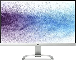 HP 21.5-inch (54.6 cm) Edge to Edge LED Backlit Computer Monitor - Full HD, IPS Panel with VGA, HDMI Ports - T3M71AA (Silver/Black)