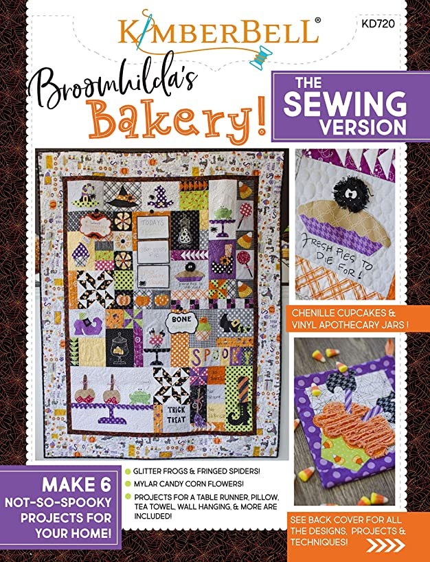 Kimberbell Designs KD720 Broomhilda's BakerySewingVerBk, None