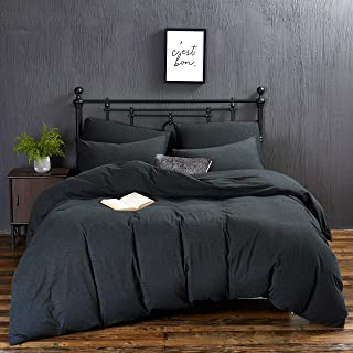 MoMA Jersey Knit Cotton Duvet Cover 90