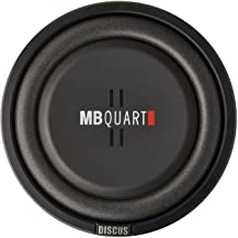 MB Quart DS1-254 Discus Shallow Mount Subwoofer (Black) – 10 Inch Subwoofer, 400 Watts,..