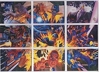 1994 Fleer Ultra X-Men Team Portrait Insert Set of 9 Cards NM/M Marvel