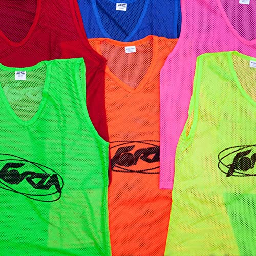 Net World Sports FORZA Training Bibs Vests (10 Pack) - Choose Your Colour aeff9726e