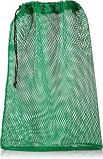 SGT KNOTS Mesh Bag USA Made (Small, Medium, or Large) 550 Paracord Drawstring Bag - Ventilated Washable Reusable Stuff Sack for Laundry, Gym Clothes, Swimming, Camping - (14 Colors)