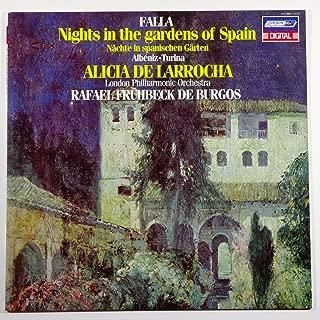 Nights In The Gardens Of Spain / Rapsodia Espanola / Rapsodia Sinfonica