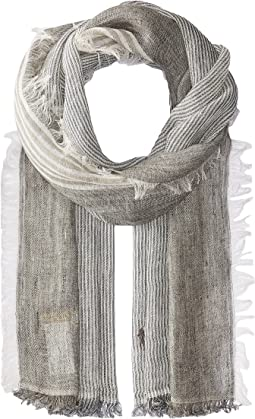 Classic Linen Stripe Scarf
