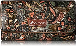 Sakroots Women's Megan Snap Trifold Wallet