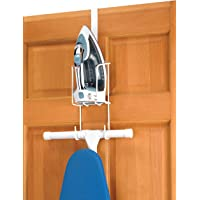 Whitmor Over The Door Iron Board Storage Organizer