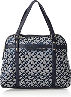 Tommy Hilfiger Women's Tote Bag, Navy Blue