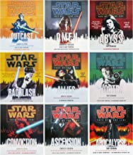 Star Wars Fate of the Jedi Complete Set of 9 Audio CD Sets: Outcast Omen Abyss Backlash Allies Vortex Conviction Ascension Apocalypse